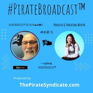 Catch Angie S on the #PirateBroadcast™