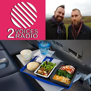 New Year diets and gyms, cooking, veganism, arts and crafts on TV, supermarket cafe, flights and meals.  EP 74