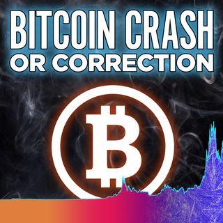 301. Bitcoin Crashing or Correction? | Bitcoin Sentiment HOLDING!