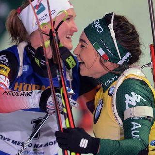 Biathlon sprint femminile Oberhof