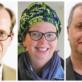 Johan Hakelius, Maja Aase och Jonathan Lindström