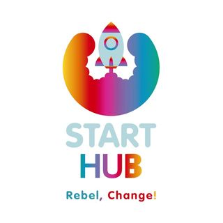 Brand positioning - Start Hub, Rebel Change!
