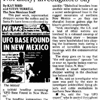 UBR - UFO Report 165: Dulce New Mexico Base Flashback