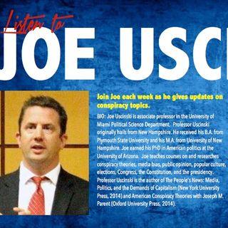 Dr Joeseph Uscinski Conspiracy Countdown part
