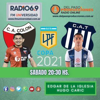 Colón dejó en el camino a Talleres y jugará en semis contra Independiente