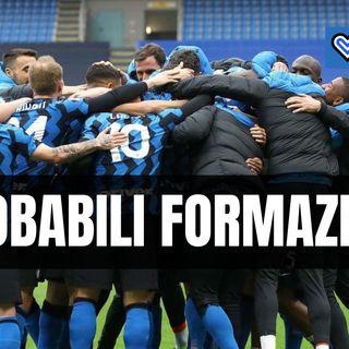Le probabili formazioni di Spezia-Inter: due ballottaggi per Conte