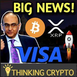 Visa Bullish on Crypto, Creating Ecosystem To Boost Adoption - Ripple XRP Tokenization