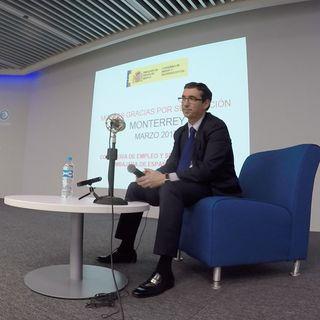 """""""Españoleando"""" Emisión en directo desde Monterrey Consejero de Empleo Sr Carlos Moyano """"Protección Social de los Españoles en el Exterior"""""""