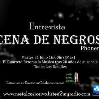 Entrevista - CENA DE NEGROS