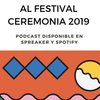 """Festival Ceremonia 2019  """"Las letras chiquitas del Cartel"""""""