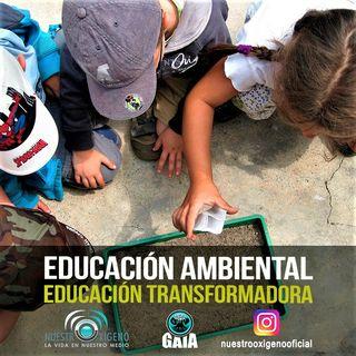 NUESTRO OXÍGENO Educación ambiental educación transformadora