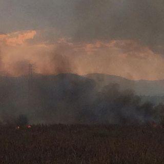 Por incendio cerrada la Naucalpan-Ecatepec