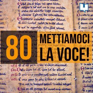 80 - Leggere testi arcaici a voce alta