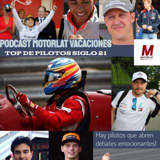Podcast de Pretemoporada   Episodio 3   Top 5 de pilotos del siglo 21