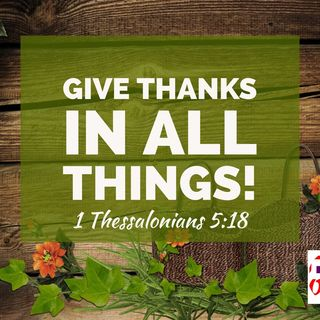 Thanksgiving is the Secret to God's Peace that Transcends All Understanding That Mounts Guard Over your Heart and Mind.