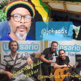 El maestro del Reggae colombiano Job Saas habló en UR Rock y escuche lo nuevo de la banda E Multicolor