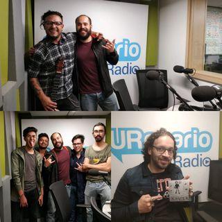 Sirvan cuatro tazas, que UR Rock presenta lo nuevo de cuatro bandas colombianas