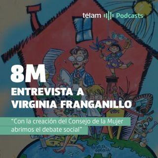 """Virginia Franganillo: """"Con la creación del Consejo de la Mujer abrimos el debate social"""""""
