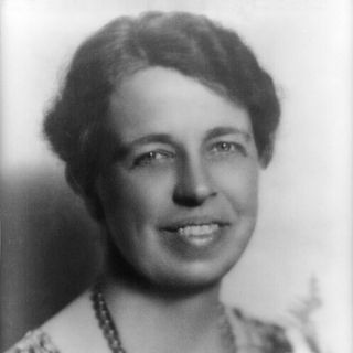 Eleanor Roosevelt narration and dialogue sample