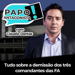 Bolsonaro vai tentar um autogolpe? - Papo Antagonista com Claudio Dantas, Diogo Mainardi e General Santos Cruz