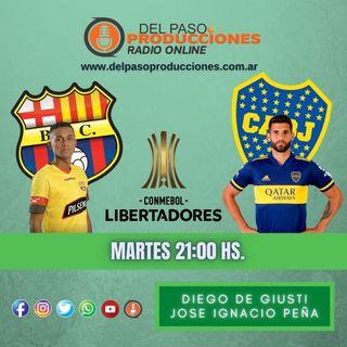 Boca perdió el invicto en Guayaquil ante Barcelona