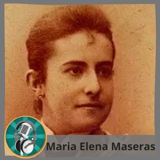 Antonia M. Moreno con María Elena Maseras