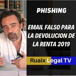Declaracion de Renta | Phishing | Emails Falsos de Hacienda para devolucion de IRPF