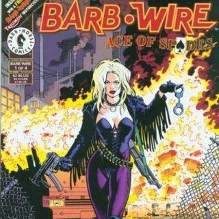 Source Material #185: Barb Wire Comics (Dark Horse Comics, 1994)