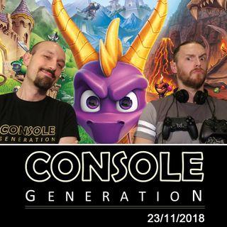 Spyro Reignited Trilogy, giochi da tavolo e altro! - CG Live 23/11/2018