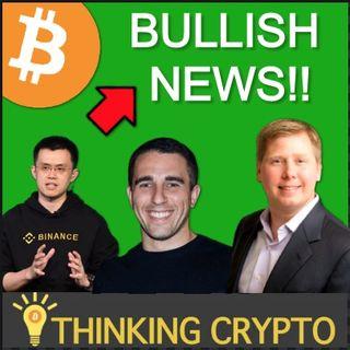 CRYPTO BULL MARKET in Full Effect - Binance Seeing New ATH Levels - Grayscale $6B AUM - Bitcoin $9 Trillion Dollars Market Cap