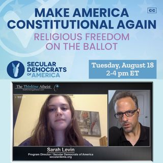 Make America Constitutional Again (with Sarah Levin)