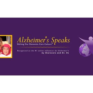 Alzheimer's Speaks Radio - Open Mic & A Sons Journey Caring For His Mother
