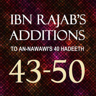 40 Hadeeth: Ibn Rajab's Additions