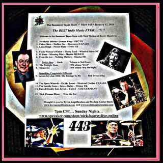 Show #443 - January 12, 2020 - RIP Neil Peart