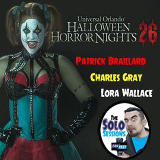 SS #14 HHN 26 Panel - Patrick Braillard, Charles Gray, & Lora Wallace