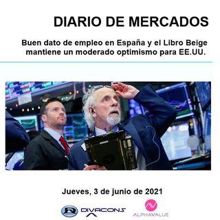 DIARIO DE MERCADOS Jueves 3 Junio