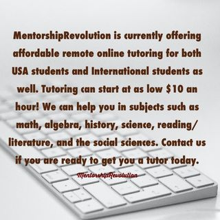 Hire a tutor today with us! Remote learning.