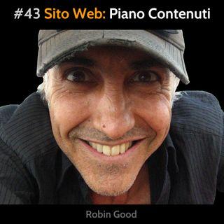 #43 Sito Web: Piano dei Contenuti