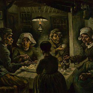Mangiatore di patate, V. Van Gogh