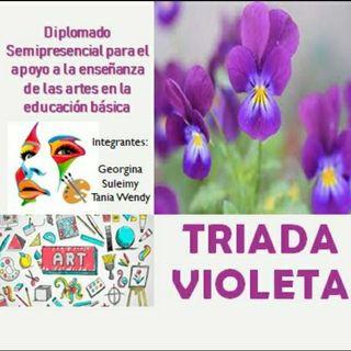 PODCAST, GEORGINA, SULEYMI Y TANIA. TRIADA VIOLETA