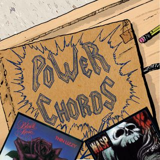 Power Chords Podcast: Track 3--Thin Lizzy and W.A.S.P.