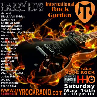 Harry Ho's intern. Rock Garden 16.05.2020