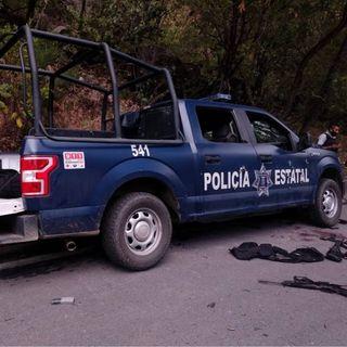 6 policías muertos deja emboscada en Guerrero