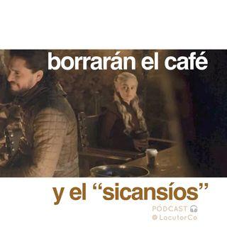 Retocar una serie: borran el café de Game of Thrones