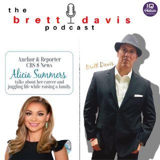 Alicia Summers on The Brett Davis Show, Ep 196