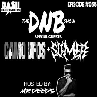 the DNB show Episode 55 (special guests: Camo UFOs & Slimer)