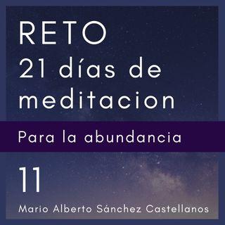 Día 11 del Reto de 21 Días de Meditación para la Abundancia