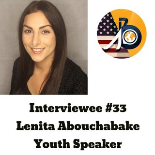 Interviewee #33 - Lenita Abouchabake on Youth Leadership
