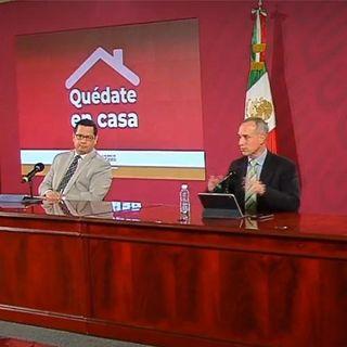 México registra  42 mil 596 casos de COVID-19 y cuatro mil 477 muertes
