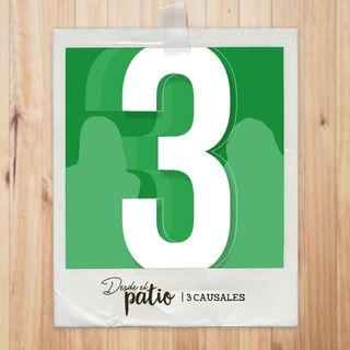 3 Causales | Desde el Patio